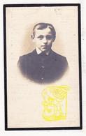 DP Foto - Edouard L. Wijnants / Van Den Bril * 13j.* ° Merchtem 1902 † Sint-Jans-Molenbeek 1916 - Images Religieuses