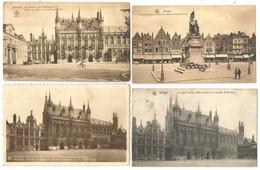 (G053) BRUGGE-BRUGES - Poste - Palais Du Gouverneur - Gare - Beffroi - Justice De Paix - Breydel Et De Coninck - Brugge