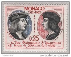MONACO 1962 N° 576  NEUF  ** - Nuovi