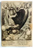 Gravure Sur Cuivre / Image Pieuse : Eia Iesus Tibi Notum... (Anvers / Antwerpen) - Images Religieuses