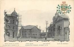 Pays Div- Ref R198 - Australie - Australia - Charlotte Street - Sydney - Royal Bank Of Canada -bank Of Montreal  - - Non Classés