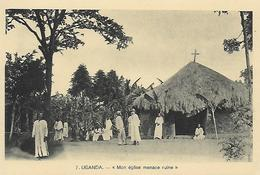 Ouganda )  UGANDA  - Mon église Menace Ruine - Ouganda