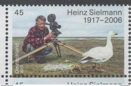 GERMANY , 2017, MNH, BIRDS, HEINZ SIELMANN, PHOTOGRAPHY, 1v - Birds