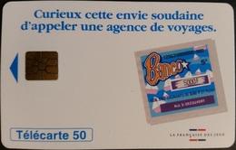 Telefonkarte Frankreich - Werbung - Banco - 50 Units - 04/96 - 1996