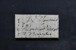 FRANCE - Lettre ( Pliage En Enveloppe ) Ancienne à Déchiffrée - L 23530 - Marcophilie (Lettres)