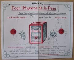 Buvard  Pommade Alésia Pharmacie Les Laumes Côte D'Or - Buvards, Protège-cahiers Illustrés
