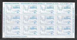 MEETING D'AVIATION - AERODROME DE BASSE MOSELLE - VIGNETTE DE TRANSPORT DE PLI PAR AVION - NEUVE - Commemorative Labels