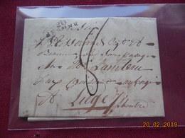 Lettre De 1810 Au Depart De Beaune à Destination De Liège - 1801-1848: Voorlopers XIX