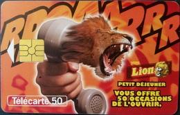 Telefonkarte Frankreich  - Werbung - Lion -  11/97 - 50 Units - Frankreich