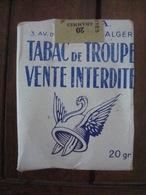 Paquet Cigarettes Troupe - Algérie.. - Optique