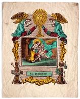 Gravure Sur Cuivre / Image Pieuse : S.te JULIENNE - Images Religieuses