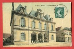 CPA 02 CORBENY Hotel De Ville Edition Goulet Turpin Toilée Colorisé - Autres Communes