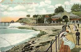 Pays Div- Ref R192- Etats Unis D Amerique - United States Of America -usa -santa Barbara - Los Banos Del Mar - - Santa Barbara