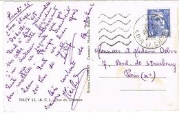 DAGUIN MUET DE VER SUR CPSM - Poststempel (Briefe)