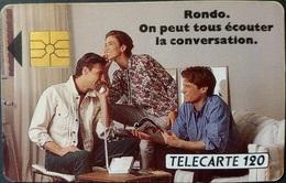 Telefonkarte Frankreich - Werbung - Telefon - 10/91 - 120 Units - Frankreich