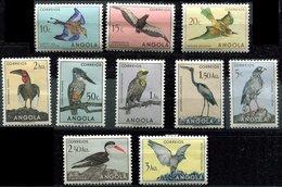Angola Ch - Lot De Timbres Oiseaux - Birds