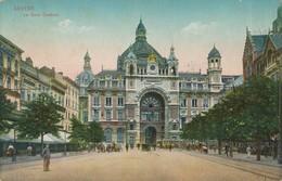 CPA - Belgique - Antwerpen - Anvers - La Gare Centrale - Antwerpen