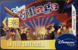 Telefonkarte Frankreich - Disney Village - 120 Units - 08/03 - Frankreich