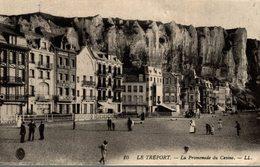 LE TREPORT LA PROMENADE DU CASINO - Le Treport