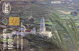 Paco \ GRECIA \ Chip OTE X0792 B \ The Island Of Kasos \ Usata - Greece