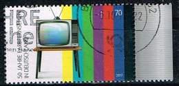 Bund 2017, Michel# 3329 O 50 Jahre Farbfernsehen - [7] Federal Republic