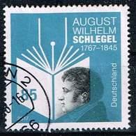 Bund 2017, Michel# 3332 O August Wilhelm Schlegel - [7] Federal Republic