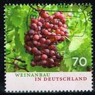Bund 2017, Michel# 3334 O Weinanbau In Deutschland - BRD