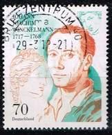 Bund 2017, Michel# 3338 O 300. Geburtstag Johann Joachim Winckelmann - [7] Federal Republic