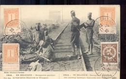 Nieuwpoort - Dixmuide - 1920 - Senegalesche Soldaten Railway - Spoorweg - Dixmude - Nieuport - 1915 - Nieuwpoort
