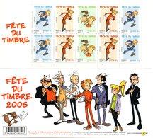 France. Carnet Yc3877ba.fete Du Timbre. Annee 2006 N**.non Plié. - Carnets