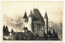 Thun Schloss Thoune Chateau Real Photo Unused - Ansichtskartenverlag AG - BE Berne