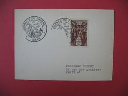 Carte - Lettre  Algérie  Journée Du Timbre 1951  Oran - Algeria (1924-1962)