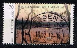 Bund 2017, Michel# 3341 O Serie Wildes Deutschland: Meckl. Seenplatte - [7] Federal Republic