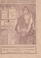 Tickets Rationnement Pain / Mars 1919 / Confiez Votre épargne Aux Mains De La France - 1914-18