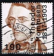 Bund 2017, Michel# 3343 O 200. Geburtstag Theodor Mommsen - [7] Federal Republic