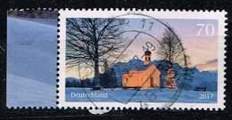 Bund 2017, Michel# 3344 O Weihnachtliche Kapelle - [7] Federal Republic