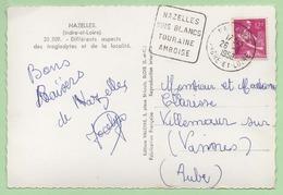 "DAGUIN  ""NAZELLES VINS BLANCS TOURAINE AMBOISE"" - 1958 - - 1921-1960: Modern Period"
