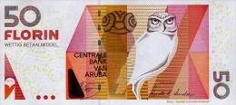 ARUBA P. 18c 50 F 2012 UNC - Aruba (1986-...)