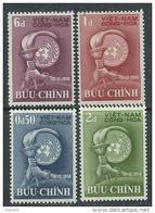 Vietnam Du Sud N° 98 / 101 XX 10ème Ann. De La Déclaration Universelle Des Droits De L'Homme .  Les 4 Vals Ss Ch  TB - Viêt-Nam