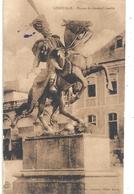LUNEVILLE . STATUE DU GENERAL LASALLE .  CARTE ECRITE AU VERSO LE 19 MAI 1931 - Luneville