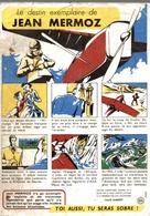 Buvard Le Destin Exemplaire De Jean Mermoz - Buvards, Protège-cahiers Illustrés