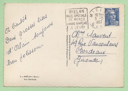 "DAGUIN  ""MIELAN RACE SPECIALE DE PORCS GRAND MARCHE LE JEUDI"" - 1952 - - 1921-1960: Modern Period"