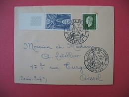 Lettre  Journée Du Timbre 1951  Versailles - France