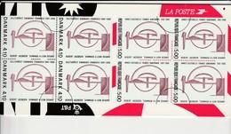 Bloc Emission Commune ** - France Danemark - Prix Départ 1.50€ Sans Réserve - YM - Sheetlets