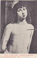 Postcard - Firenze - R Galleria Uffizi - S. Sabastiano (Lorenzo Costa) - Card No. 1256 - VG - Unclassified
