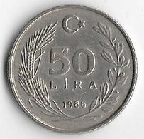 Turkey 1986 50 Lira [C360/1D] - Turquie