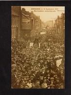 Belgique / Quaregnon / Manifestation Antimilitariste 1912 / Attention ! Photographie Carte Postale (fond Neudin) - Quaregnon