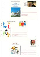 POLOGNE LOT 20 ENTIERS CARTE ILLUSTRES - Timbres