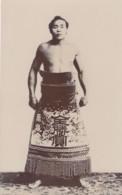 Sumo Wrestling, Japan Sports, Portrait Of Young Wrestler, C1900s/20s Vintage Real Photo Postcard - Wrestling