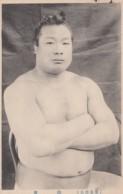 Sumo Wrestling, Japan Sports, Wrestler In Traditional Fashion Ceremonial Portrait, C1910s/30s Vintage Postcard - Wrestling